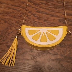 Lemon Crossbody Purse